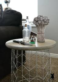 diy round end table do it yourself stunning side tables decorating your small space vibrant idea end table ideas unique design round diy tablet stand