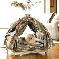 luxury pet furniture. 4 Poster Dog Bed Luxury Pet Furniture Designer Four Y