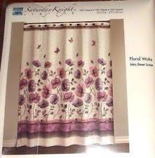 saturday knight ltd. Beautiful Ltd Floral Fabric Shower Curtain By Saturday Knight Limited Waltz NEW IN  BAG On Ltd S