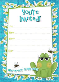 Boys Birthday Party Invitations Templates Boy Birthday Party Invitation Template