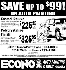 econo auto painting and works auto service ads from commercial appeal