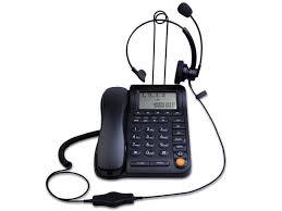 kerlitar p017b call center corded phone