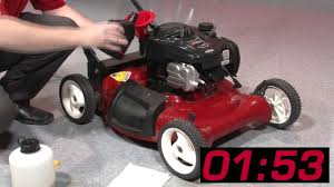 Briggs And Stratton Engine Oil Capacity Chart The 3 Minute Small Engine Oil Change From Briggs Stratton