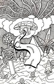 Small Picture Trippy coloring pages mushroom clouds coloring pages Pinterest