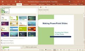 microsoft powerpoint slideshow templates how to change templates in powerpoint 2016 laptop mag