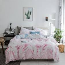 100 pink duvet cover brief solid color bed sheet bedspread soft pillow case twin queen king size bedding sets for home cars bedding silk bedding sets