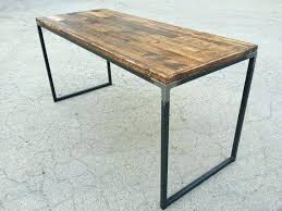 Best Modern Office Furniture Mesmerizing Rustic Modern Desk Wood Desks Reclaimed Iron View In Your Room Free