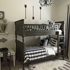 Kids Bedroom Bunk Beds Home Tour The Grey Boys Room Colors And Hardware