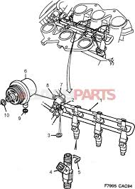 9118850 saab fuel pressure regulator genuine saab parts from saab 900 intake system diagram saab fuel pressure diagram