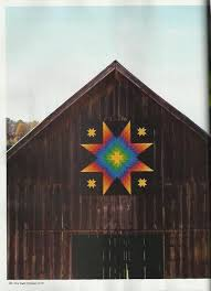 Best 25+ Barn quilts ideas on Pinterest   Barn quilt patterns ... & I like the bright color of the quilt block on the dark barn. Quilt blocks  are being placed on many old barns in Carroll County Maryland to mark the  rural ... Adamdwight.com