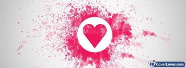 love heart splash