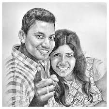 Pencil Sketches Of Couples Couple Pencil Sketch