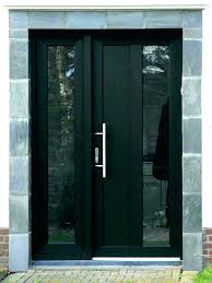 modern entry doors with gl modern exterior front doors with gl black door dark wood intended