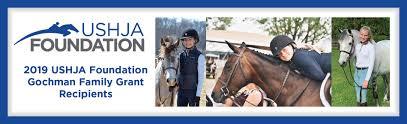 USHJA Foundation Gochman Family Grant Makes 3 Riders' Dreams Come True ::  USHJA