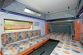 interior living area of the cer trailer quokka toy hauler