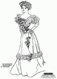 Small Picture victorian homes Coloring Pages for Adults Ladies Victorian Dress
