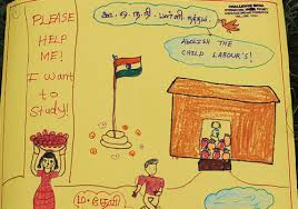 global youth ambassadors stand up against child labour acirc theirworld gya from dinesh gajendran at world day against child labour drawings by children
