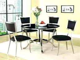 dining table sets modern round room for 4 white set 6
