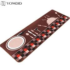 circle kitchen rugs knife and fork non slip floor mat foyer carpet kitchen rugs household long circle kitchen rugs