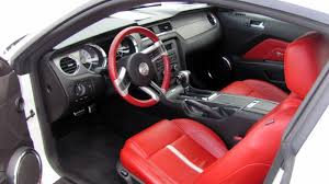 file 2010 ford mustang gt with red leather interior jpg