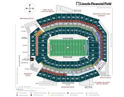 Eagles Seating Chart Amazing As Well As Stunning Philadelphia Eagles Seating