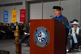 Patti McGill Peterson Talks to Stockton Grads About Jobs and ...