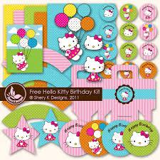 Laine Design More Free Hello Kitty Party Printables