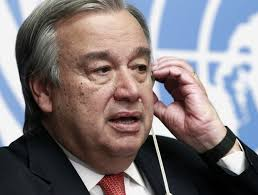 Resultado de imagem para Guterres aclamado como novo secretário-geral da ONU