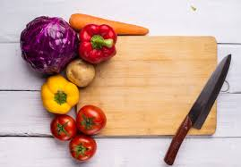cutting board with food. Cutting Board With Vegetables Free Photo Food