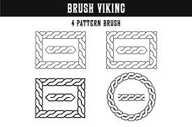 Viking Patterns Best Pattern Brush Viking Braid Illustrator Design Bundles