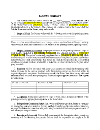 We provide a variety of free and printable contract templates for you. Plumbing Contract Template Approveme Free Contract Templates