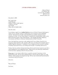 Resume Cover Letter Samples Doc Jobsxs Com