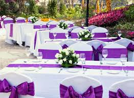 Beach Wedding Accessories Decorations Wedding Accessories Decorations Perfect Purple Wedding Reception 44