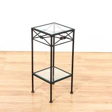 full size of modern coffee tables supermetal glass top end tables metal tier glass top