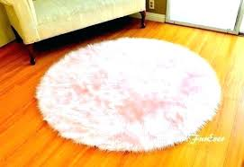 fake sheepskin rug pink fur carpet interior lights house within rugs faux canada