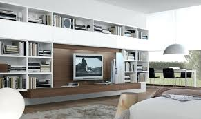 entertainment wall ideas living room cupboard wood units appealing mounted center