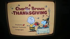 A Charlie Brown Thanksgiving DVD Menu ...