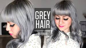 How To Get Silver Grey Hair Roux Fancifull 41 True Steel Rinse Tutorial