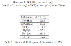 Solution Using The Standard Enthalpies Of Clutch Prep