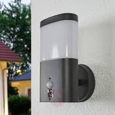 Marius Led Buiten Wandlamp Met Sensor