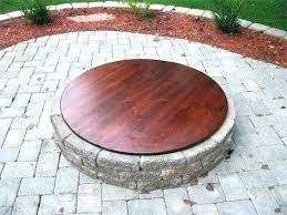 metal fire pit cover. Fire Pit Cover Metal