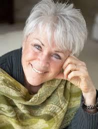 short hair for older women over 60