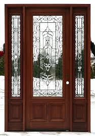 wood front entry doors with glass delightful front doors with glass panels wooden front doors with