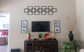 faux fretwork panel as large scale wall décor