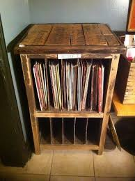 furniture turntable stand. record player stand and vinyl storage cabinet vintage wooden that has been sanded down furniture turntable t