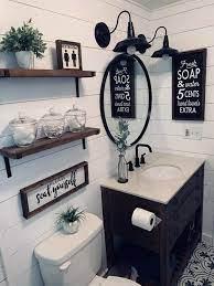 𝐩𝐢𝐧𝐭𝐞𝐫𝐞𝐬𝐭 𝐬𝐚𝐦𝐚𝐠𝐫𝐞𝐝𝐬 Bathroom Decor Farmhouse Bathroom Decor Restroom Decor