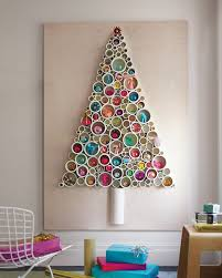Make yourself a stylish modern Christmas tree! Check out this neat DIY PVC  pipe christmas tree tutorial from Martha Stewart.
