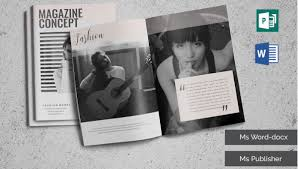 Free Magazine Template For Microsoft Word 26 Microsoft Publisher Templates Word Pdf Excel Free