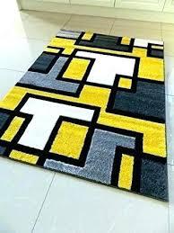 yellow gray white rug yellow grey and white rug yellow and white rugs yellow black silver