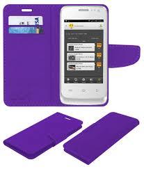 Celkon A15 Flip Cover by ACM - Purple ...
